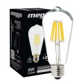 LED Filament ST64 6W  E27 IC (10233)